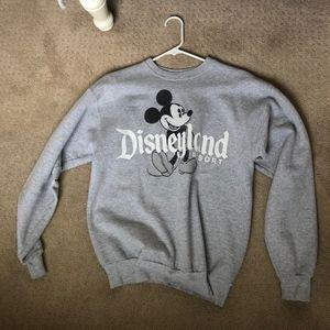 Grey Disneyland Sweatshirt